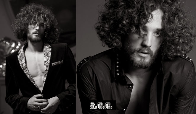 advertising photographer  james nader fashion photography - rococo meswear london