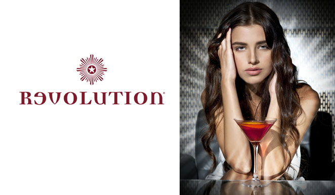 revolution vodka bars advertising photographer  james nader fashion photography