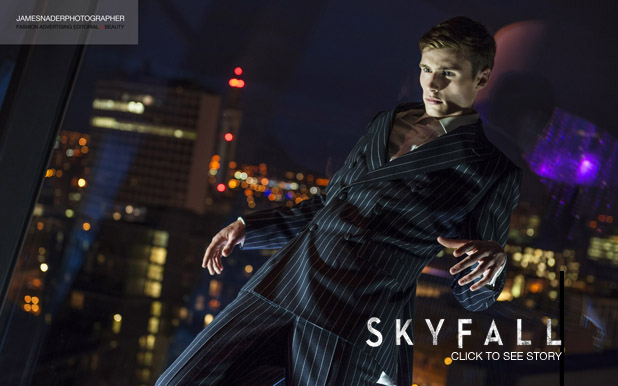 skyfall editorial by james nader fashion photographer